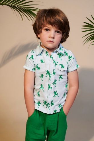 Jeff Shirt Frogs