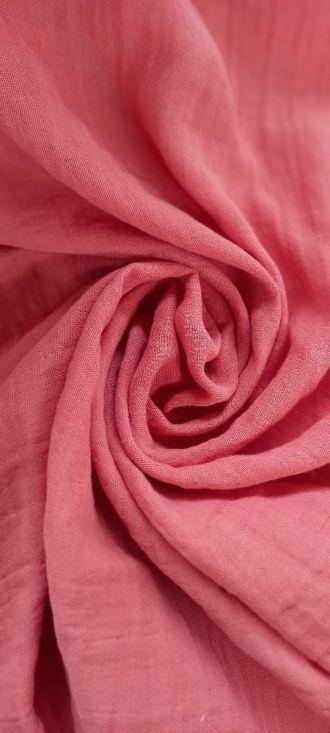Fabric Plain Double Face Crabapple