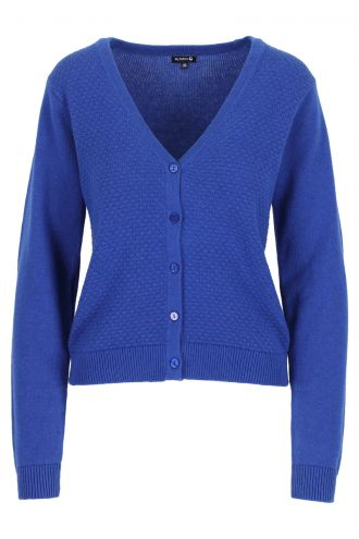 Alicia Cardigan voor Dames Turkish Sea