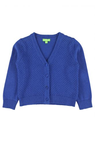 Alicia Cardigan for Girls Turkish Sea