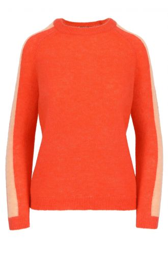 Antonina Jumper for Women Mandarine Red