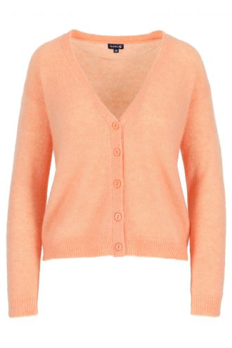 Berry Cardigan voor Dames Papaya Punch