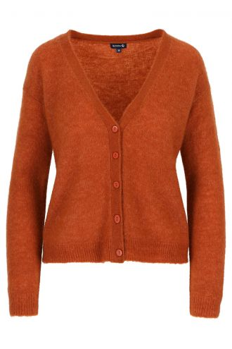 Berry Cardigan voor Dames Potter's Clay