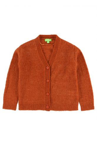 Berry Cardigan for Kids Potter's Clay