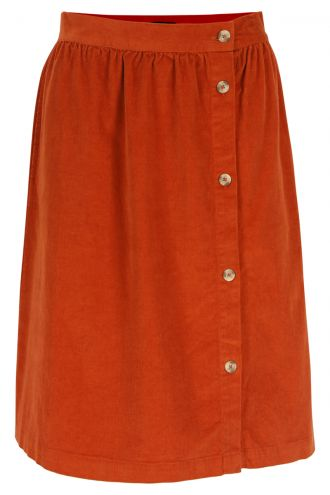 Filomena Skirt Potter's Clay
