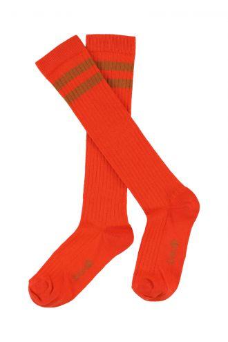 Jordan Knee socks Mandarin Red