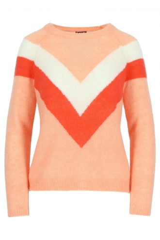 Livia Jumper for Women Papaya Punch