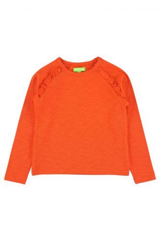 Mina T-shirt Mandarin Red
