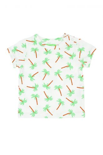 Kas Baby T-shirt Palm Trees