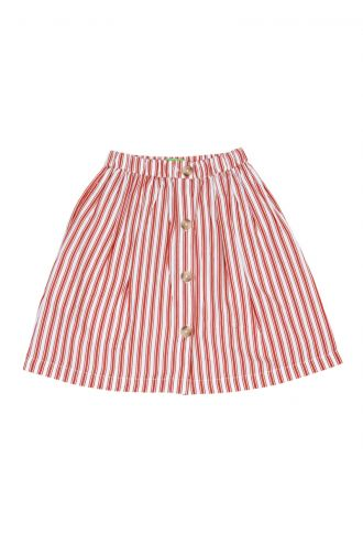 Thalia Rok Boat Stripe Strawberry