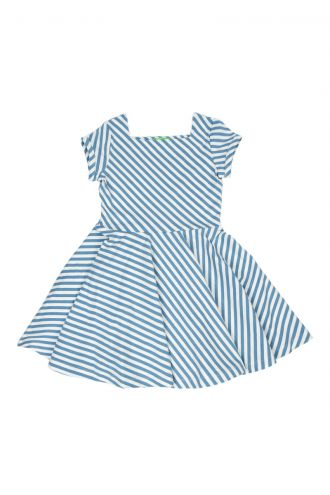 Kiki Jurk Diagonal Stripes
