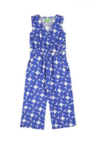 Antonella Jumpsuit voor Meisjes Cobalt Dream