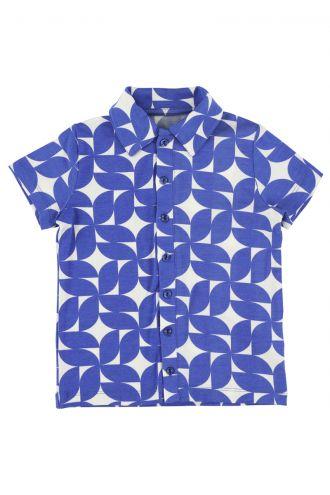 Jeff Shirt Cobalt Dream