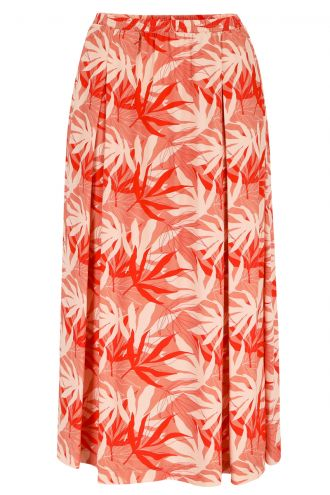 Chiara Skirt Palm Leaves