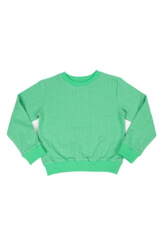 Mika Jacquard Sweater Poison Green