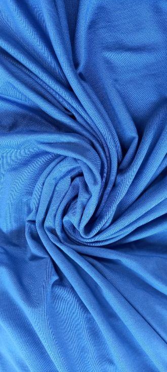 Fabric Plain Tencel Jersey Dazzling Blue