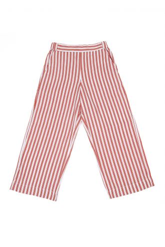 Tess Broek Boat Stripe Strawberry