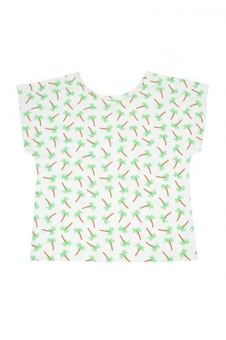 Julia T-shirt Palm Trees