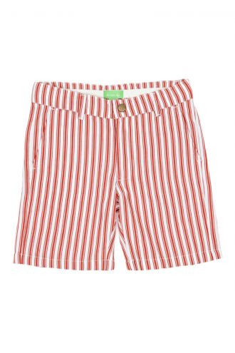 Astor Bermuda Boat Stripe Strawberry