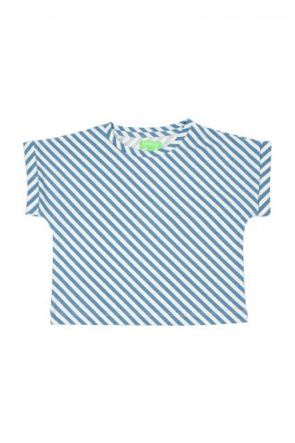 Fenna T-shirt Diagonal Stripes