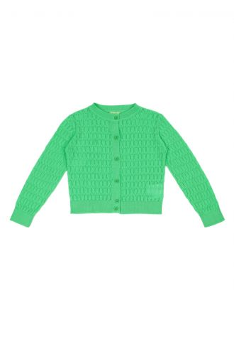 Iris Cardigan Poison Green
