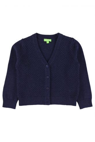 Alicia Cardigan for Girls Patriot Blue