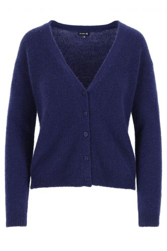 Berry Cardigan voor Dames Patriot Blue