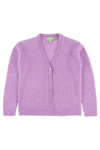 Berry Cardigan Sheer Lilac