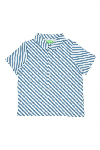 Julian Shirt Diagonal Stripes