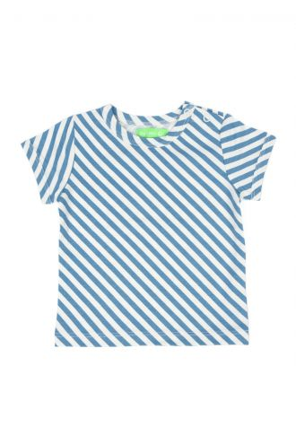 Kas Baby T-shirt Diagonal Stripes