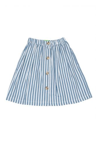 Thalia Rok Boat Stripe Real Teal