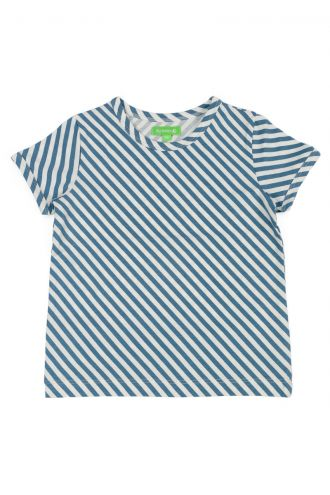 Morris T-shirt Diagonal Stripes