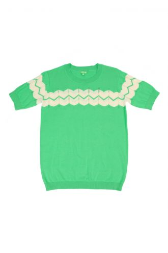 Elena Top Poison Green
