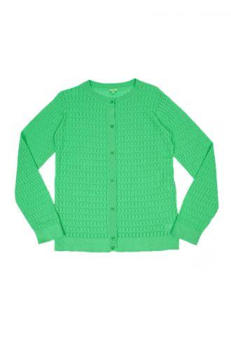Iris Cardigan voor Dames Poison Green