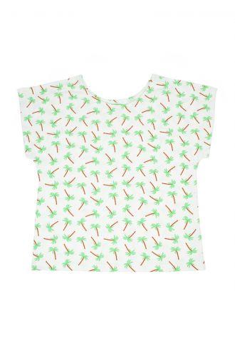 Julia T-shirt Palm Trees