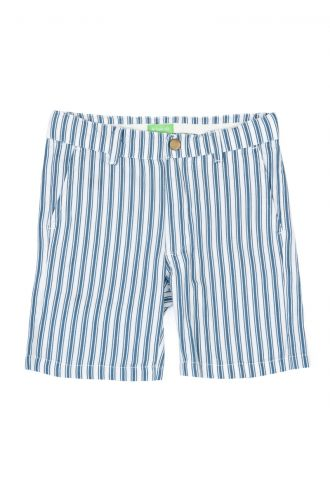 Astor Bermuda Boat Stripe Real Teal