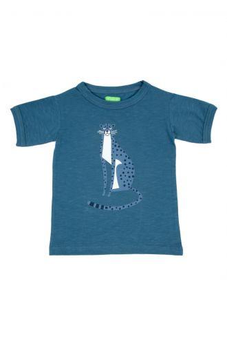 Morris T-shirt Real Teal