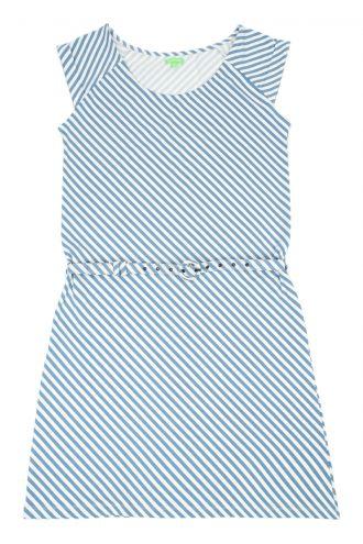Noor Jurk Diagonal Stripes
