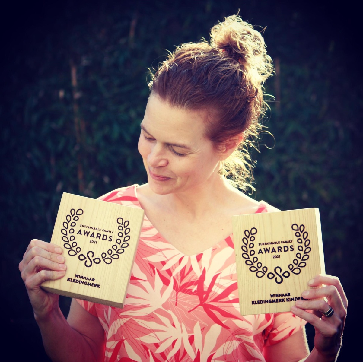 Anne with our Sustainable Family Awards