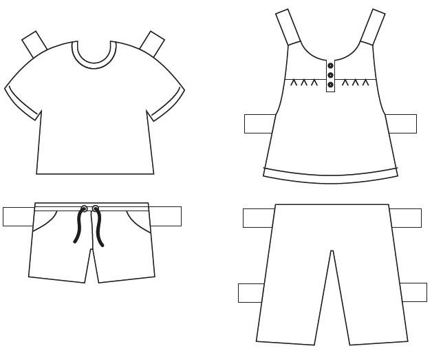 Extra kleertjes voor onze poppetjes