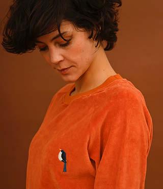 Thea sweater Rust